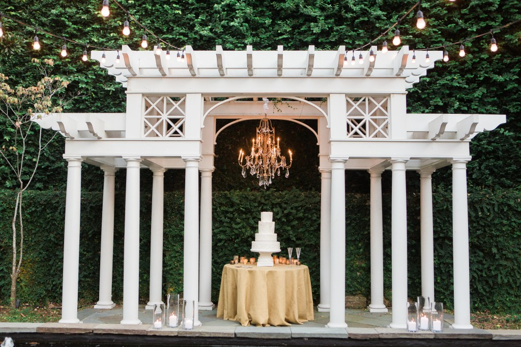 The Pergola is a perfect spot for cake!